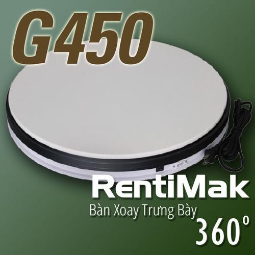 RentiMak G450 Bàn trưng bày quay tròn 360 độ