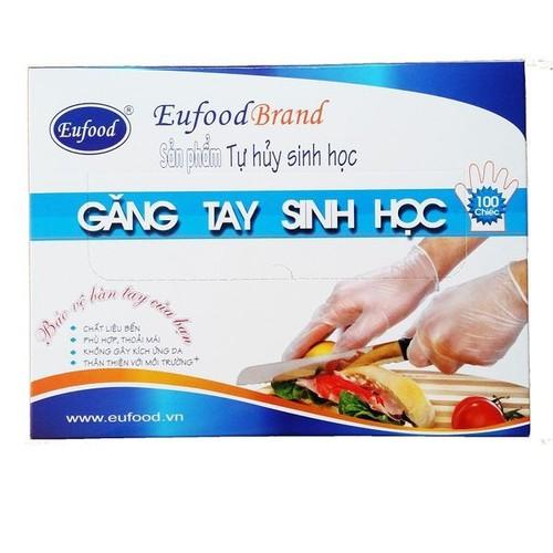 Găng tay sinh học 100 chiếc Eufood brand