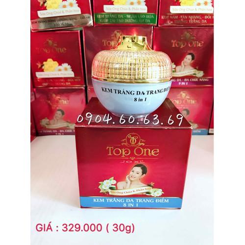 kem SỮA ONG CHÚA và PHẤN HOA 8in1 TOP ONE