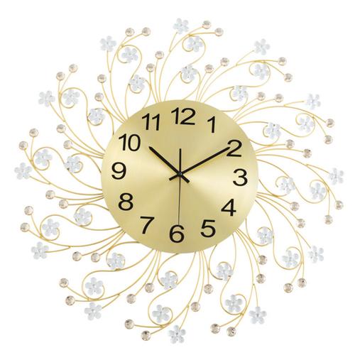 Đồng hồ treo tường hoa lá mùa xuân phong cách châu âu - best seller tony
