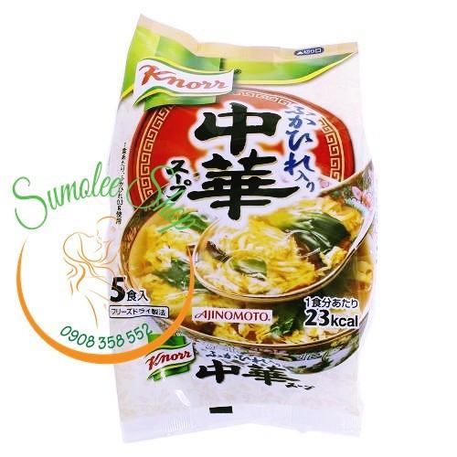 Soup Miso Knorr ăn liền vị Gà trứng Rau cải