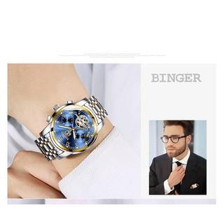 [SIÊU HOT]Đồng hồ cơ lộ máy cao cấp chính hãng Binger thời trang cao cấp [ĐƯỢC KIỂM HÀNG] - 12140918 thumbnail