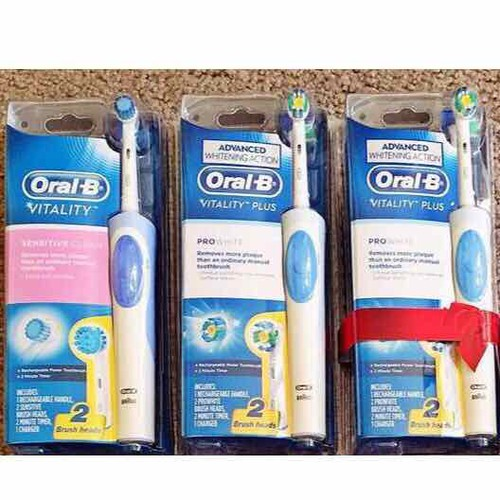 Bàn chải đánh răng điện ORAL B - PRO WHITE