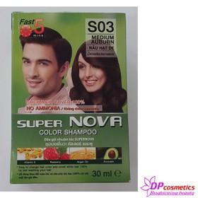 Combo 5 gói thuốc nhuộm tóc 5 màu giá rẻ - Combo 5 gói thuốc nhuộm Nova