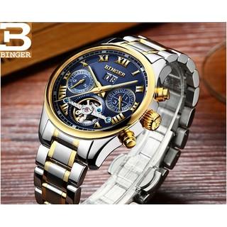 Đồng hồ cơ lộ máy chính hãng BInger đẳng cấp - BG02 thumbnail