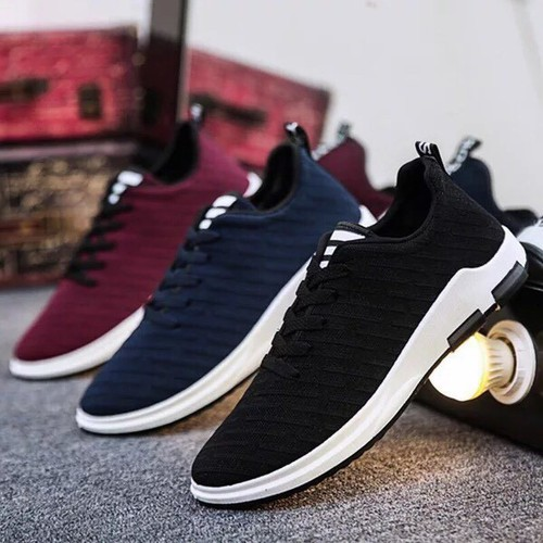 Giày Sneaker Nam Vải Xước V88