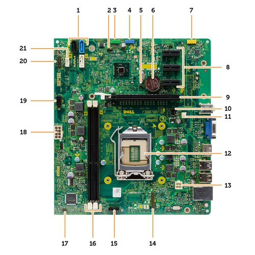Mainboard DELL Optiplex 3020 MT DT