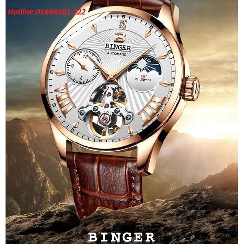 Đồng hồ cơ lộ máy cao cấp chính hãng Binger thời trang 2018 - 5695177 , 12140778 , 15_12140778 , 4700000 , Dong-ho-co-lo-may-cao-cap-chinh-hang-Binger-thoi-trang-2018-15_12140778 , sendo.vn , Đồng hồ cơ lộ máy cao cấp chính hãng Binger thời trang 2018