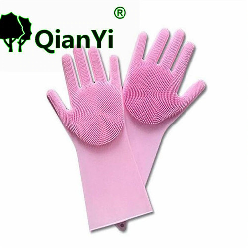 Bộ 2 găng tay rửa bát silicon tạo bọt - 5687997 , 12132144 , 15_12132144 , 140000 , Bo-2-gang-tay-rua-bat-silicon-tao-bot-15_12132144 , sendo.vn , Bộ 2 găng tay rửa bát silicon tạo bọt