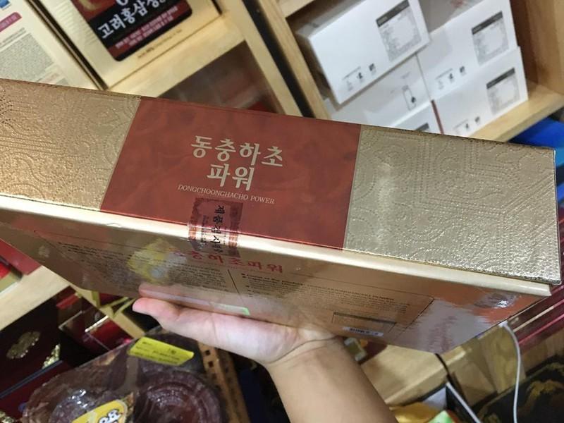 Cao đông trùng hạ thảo Hàn Quốc nội địa 5