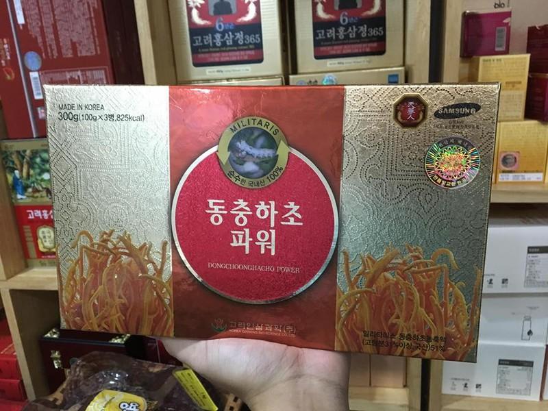 Cao đông trùng hạ thảo Hàn Quốc nội địa 1