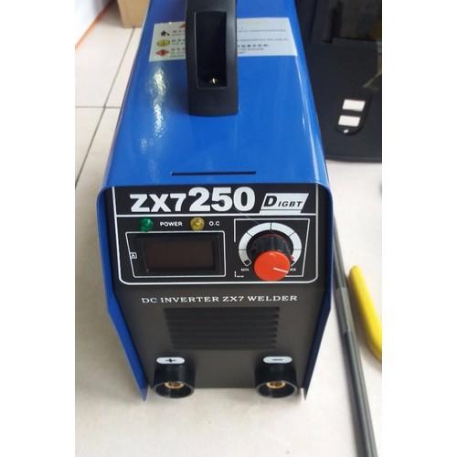 máy hàn zx7 250A có dây mát 1m dây hàn 2m