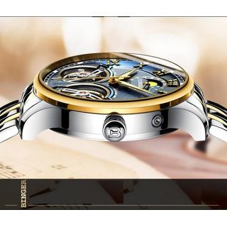 [SIÊU HOT]Đồng hồ cơ lộ máy cao cấp chính hãng Binger thời trang cao cấp [ĐƯỢC KIỂM HÀNG] - 12142446 thumbnail