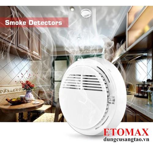 Máy báo khói báo cháy không dây Smoke Alarm - 5696676 , 12142776 , 15_12142776 , 150000 , May-bao-khoi-bao-chay-khong-day-Smoke-Alarm-15_12142776 , sendo.vn , Máy báo khói báo cháy không dây Smoke Alarm
