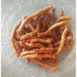 [PY] Ăn vặt thèo lèo bánh neo mặn nhà làm 500gr
