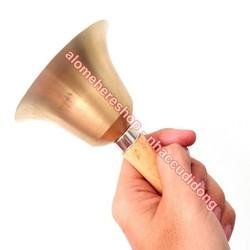 Chuông lắc cầm tay thông báo, gây chú ý, lễ hội noel