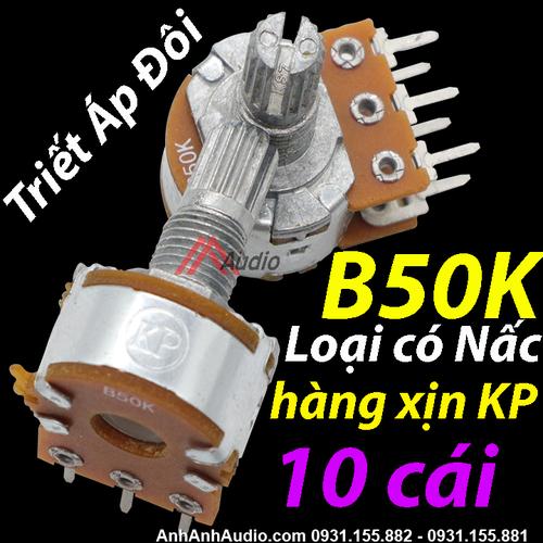 Triết áp đôi B50K loại có Nấc | Hàng xịn KP Taiwan , volume amply - 5776917 , 12247823 , 15_12247823 , 69000 , Triet-ap-doi-B50K-loai-co-Nac-Hang-xin-KP-Taiwan-volume-amply-15_12247823 , sendo.vn , Triết áp đôi B50K loại có Nấc | Hàng xịn KP Taiwan , volume amply