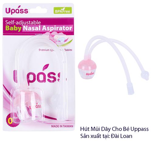 Hút mũi dây tự điều chỉnh bằng silicone cho bé chính hãng UPass hồng