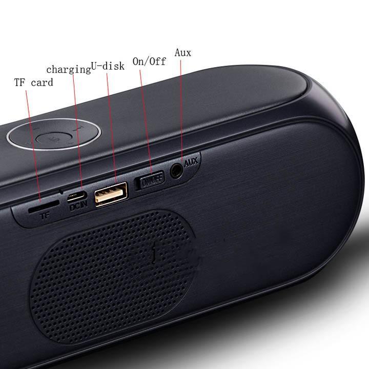 Loa Bluetooth Bass âm Thanh Sống Động chuẩn HIFI PKCB S7 3 trong 1 4