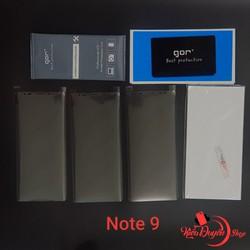Bộ 4 miếng dán full màn hình Samsung Galaxy Note 9 chính hãng Gor