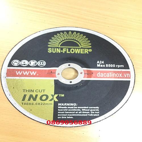 Đá cắt sắt SunFlower 180x2.0x22 mm 10 cái