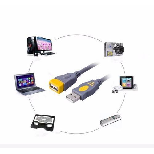 Cáp nối dài USB 2.0 dài 1m cao cấp - 5759627 , 12222306 , 15_12222306 , 36750 , Cap-noi-dai-USB-2.0-dai-1m-cao-cap-15_12222306 , sendo.vn , Cáp nối dài USB 2.0 dài 1m cao cấp