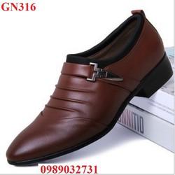 Giày Nam Giày Tây Nam Tăng Chiều Cao - GN316