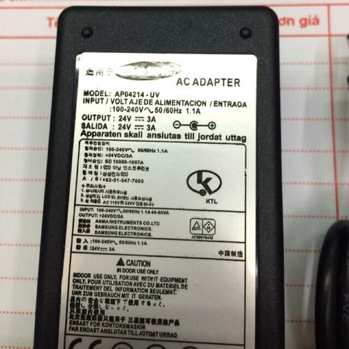 Nguồn 24V 3A adapter - 5704310 , 12151479 , 15_12151479 , 100000 , Nguon-24V-3A-adapter-15_12151479 , sendo.vn , Nguồn 24V 3A adapter