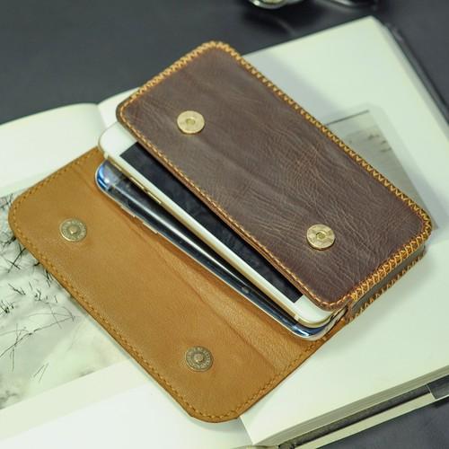 Bao da điện thoại  Iphone 6s Plus Bao da Handmade Mino Crafts VI172
