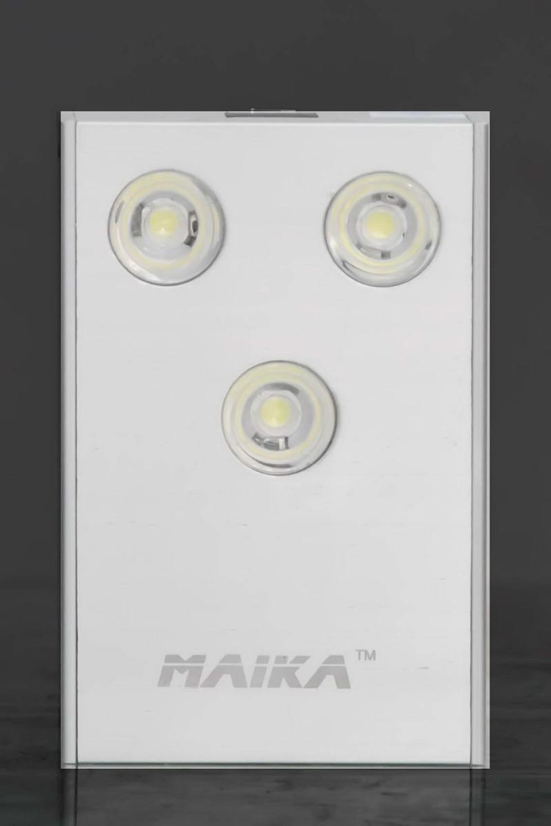 Đèn Pin Sạc Maika 3 LED siêu sáng 3W cảm ứng - MK03