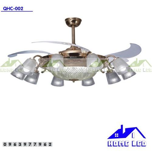 Quạt trần đèn cao cấp QHC-002