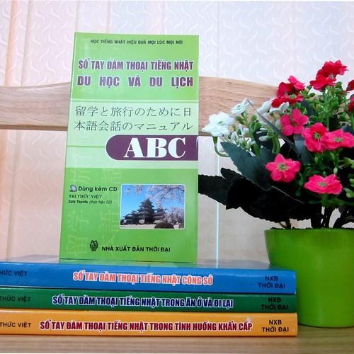 Sổ tay đàm thoại tiếng Nhật du học và du lịch ABC Kèm CD - 5708467 , 12156255 , 15_12156255 , 35000 , So-tay-dam-thoai-tieng-Nhat-du-hoc-va-du-lich-ABC-Kem-CD-15_12156255 , sendo.vn , Sổ tay đàm thoại tiếng Nhật du học và du lịch ABC Kèm CD