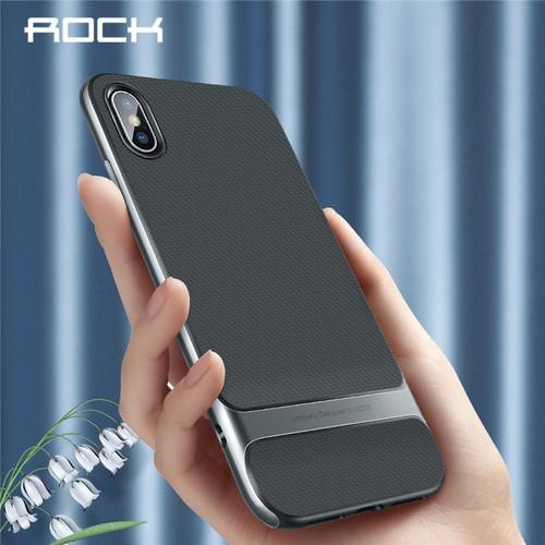 Ốp lưng iPhone Xs Max Rock Royce viền màu chống sốc tốt - 6075602 , 12597550 , 15_12597550 , 250000 , Op-lung-iPhone-Xs-Max-Rock-Royce-vien-mau-chong-soc-tot-15_12597550 , sendo.vn , Ốp lưng iPhone Xs Max Rock Royce viền màu chống sốc tốt