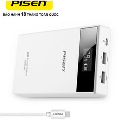 Sạc dự phòng LCD Power Station 10000 mAh Smart Version III