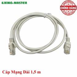 DÂY CAP MẠNG BẤM SẴN 2 ĐẦU 1M5 KING-MASTER