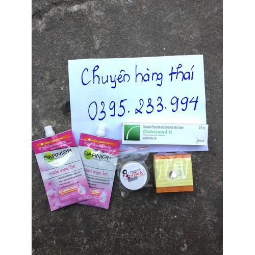 Bộ Trị Nám Tốt Nhất 5 Món CLOBETAMIL G từ Thailand