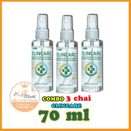 [FREESHIP] Combo 3 Chai Dung dịch rửa tay sát khuẩn Clincare SH 70ml - 6089743 , 12614278 , 15_12614278 , 125000 , FREESHIP-Combo-3-Chai-Dung-dich-rua-tay-sat-khuan-Clincare-SH-70ml-15_12614278 , sendo.vn , [FREESHIP] Combo 3 Chai Dung dịch rửa tay sát khuẩn Clincare SH 70ml