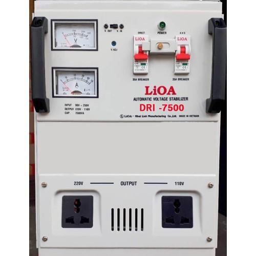 Ổn áp 1 pha LIOA DRI-7500 II 7.5kVA điện áp vào 90V-250V-Thế hệ 2018 - 6076786 , 12598854 , 15_12598854 , 6340000 , On-ap-1-pha-LIOA-DRI-7500-II-7.5kVA-dien-ap-vao-90V-250V-The-he-2018-15_12598854 , sendo.vn , Ổn áp 1 pha LIOA DRI-7500 II 7.5kVA điện áp vào 90V-250V-Thế hệ 2018