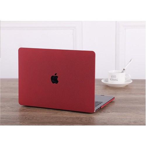 Ốp Macbook 13 Air Model Cũ - Màu Đỏ Đô