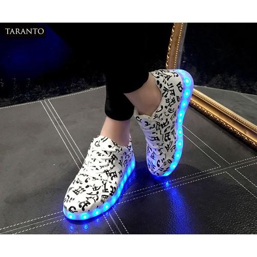 Giày thể thao nam phát sáng dạ quang 7 TARANTO TRT-GTTNU-14-TD