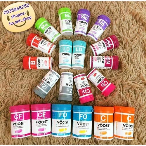 Vitamin tổng hợp Voost nhiều loaiji 30 viên
