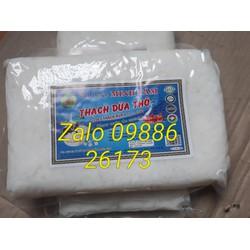 10kg thạch dừa thô Bến Tre  tặng hương