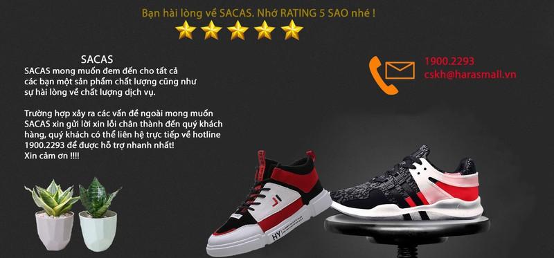 Giày sneaker Thời Trang Hàn Quốc SACAS SC077 7