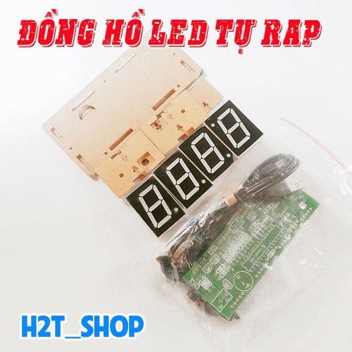 Đồng Hồ Led Tự Rap DIY - Màu Đỏ - 6073963 , 12595223 , 15_12595223 , 145000 , Dong-Ho-Led-Tu-Rap-DIY-Mau-Do-15_12595223 , sendo.vn , Đồng Hồ Led Tự Rap DIY - Màu Đỏ