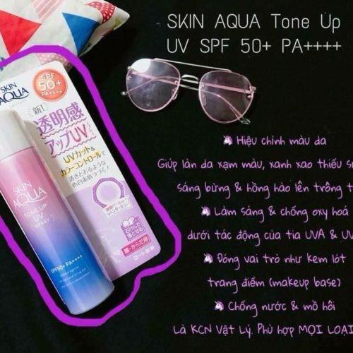 Kem chống nắng #SKIN AQUA -Kem chống nắng #SKIN AQUA Tone Up UV 1