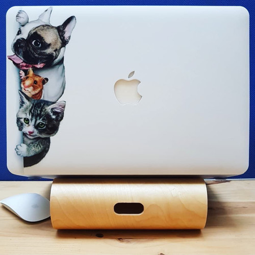 CASE ỐP MACBOOK IN HÌNH THÚ CƯNG CHO MACBOOK New PRO 13 INCH