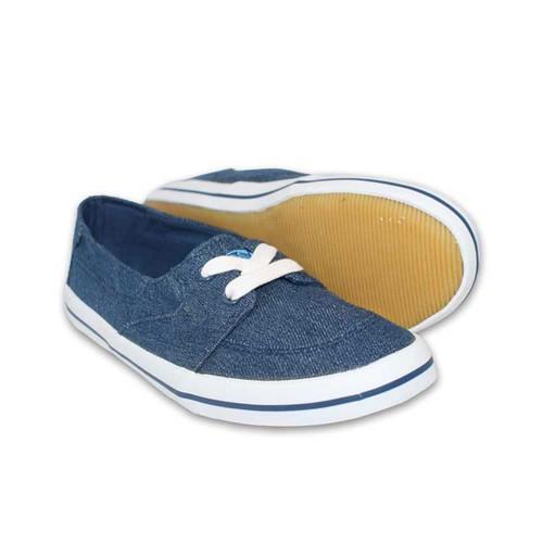 Giày sneaker nữ D&A L1411 xanh bò