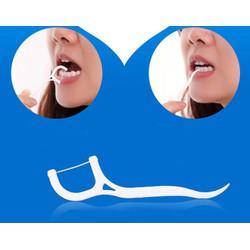 Tăm chỉ nha khoa xỉa răng combo 50 cái [Y TẾ ĐỨC ANH]