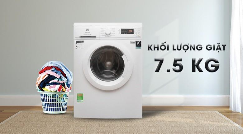 Lống giặt Hive hình tổ ong - Máy giặt Electrolux Inverter 7.5 Kg EWF7525DGWA