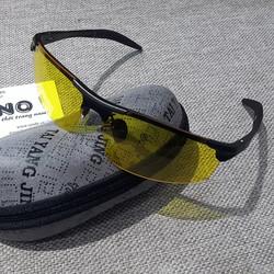 Kính đi đêm gọng nhôm magiê, mắt kính phân cực UV chống chói -MK1821